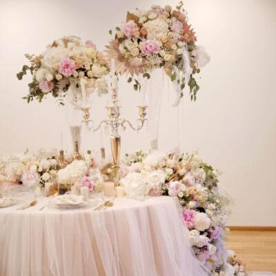 Весільна флористика та декор
